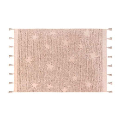 Tapete Lorena Canals Estrela Hippy - Nude Rosa